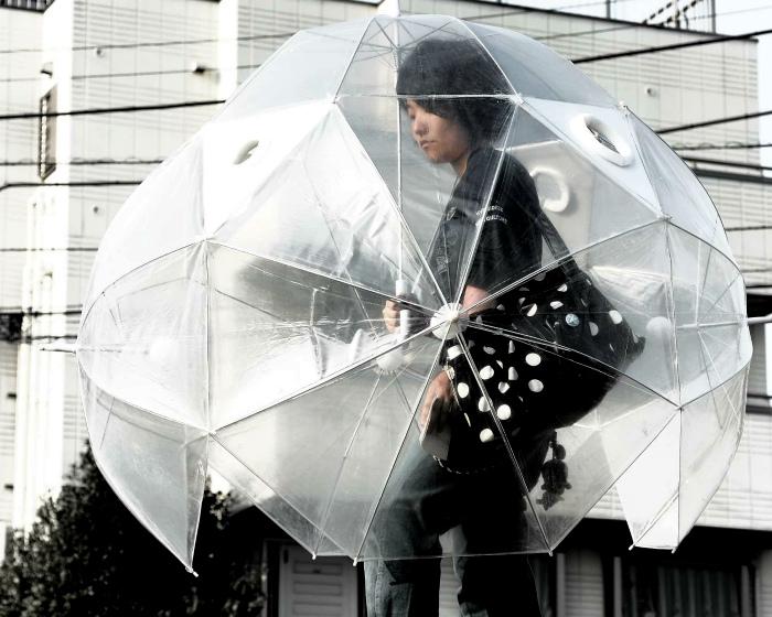 Куполовидный зонт.