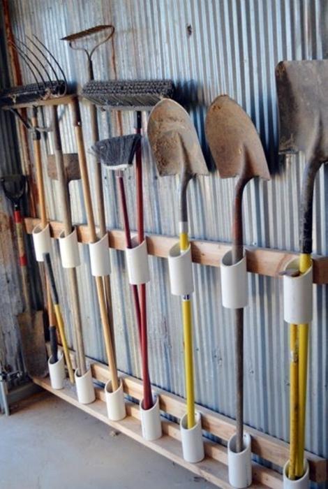 Органайзер для садового инструмента.