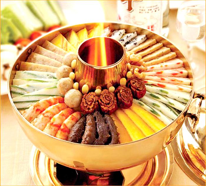 Блюдо корейской придворной кухни.