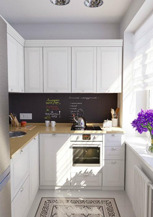 Угловой кухонный гарнитур. | Фото: Pinterest.
