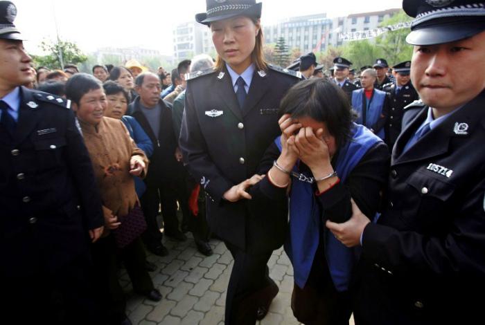 Смертная казнь в Китае. | Фото: Пикабу.