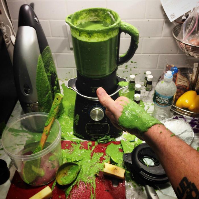 Теперь все такое яркое, зеленое! | Фото: BuzzFeed.