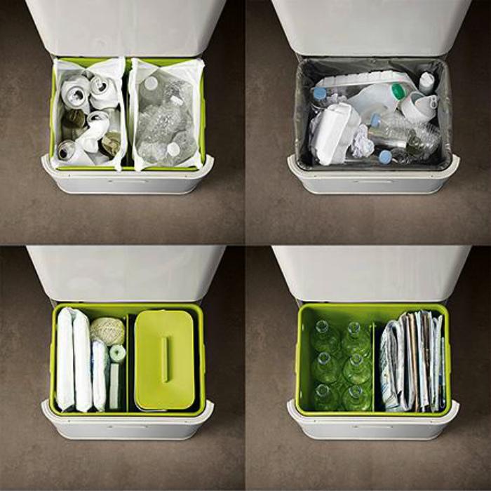 Ведро для сортировки мусора. | Фото: Passion.ru.