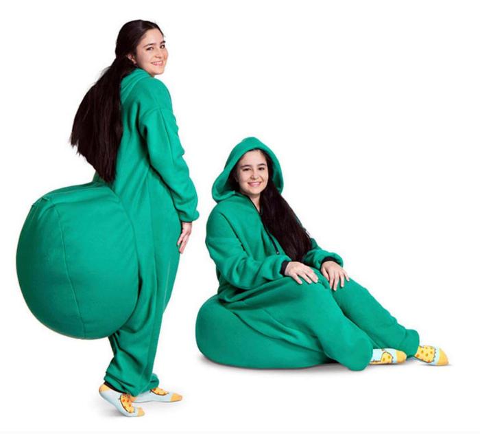 Пижама с дополнительными возможностями. | Фото: Twitter.