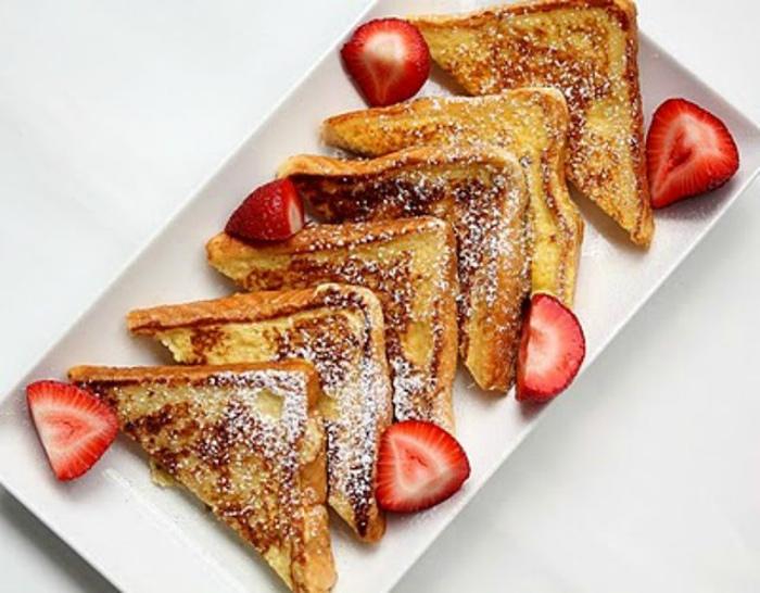 Французские тосты на новый лад. | Фото: Patee. Рецепты.