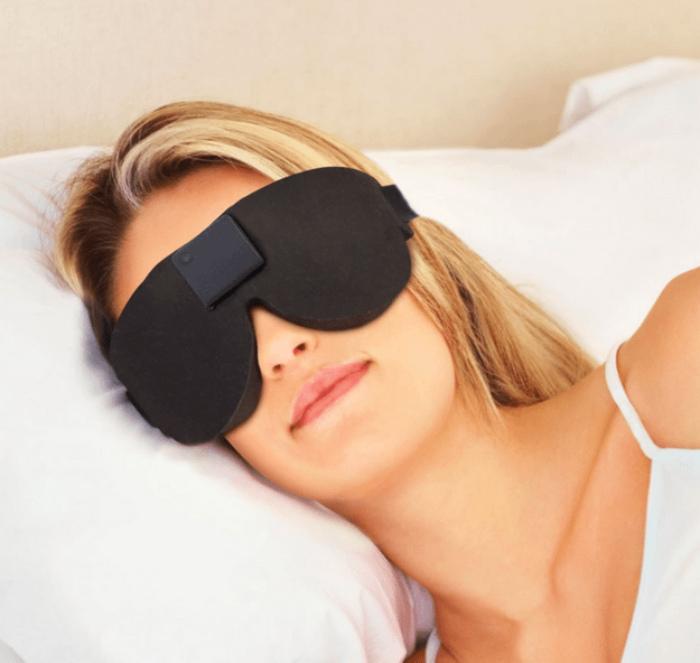 Очень темная маска для сна. | Фото: Vicer.ru.