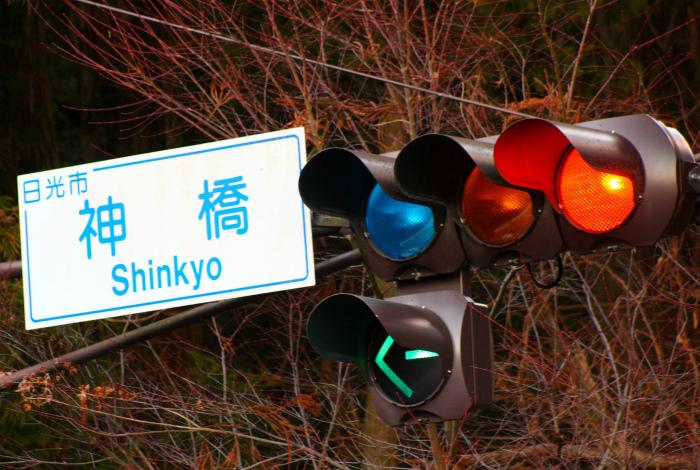 Синий сигнал светофора. | Фото: mountainstyle.co.