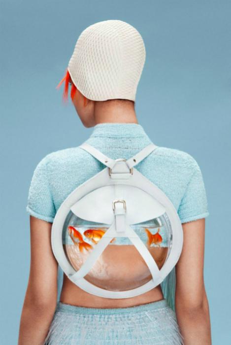Рюкзак от английского дизайнера Кассандры Верити Грин.