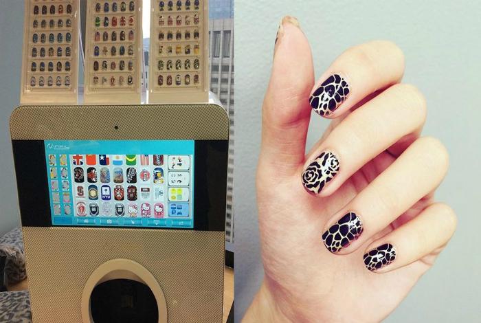 Принтер Inail для дизайна ногтей.