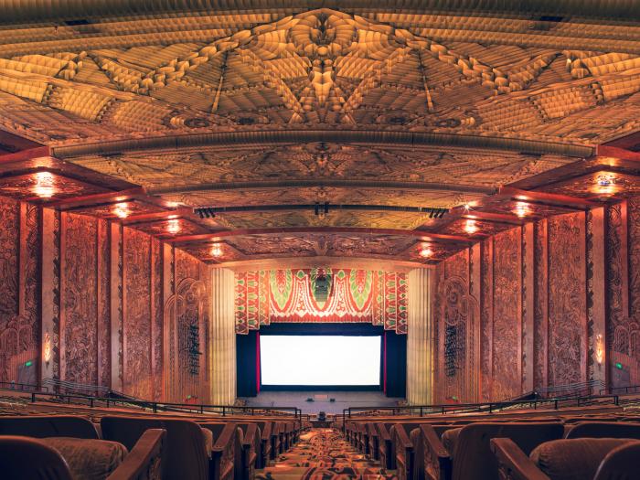 The Paramount Theater, Окленд, Калифорния.
