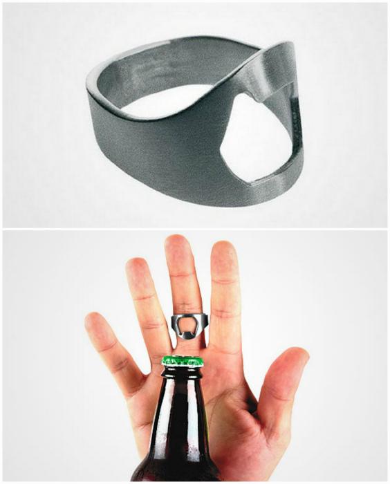 Кольцо-открывалка.