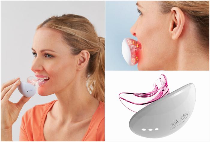 Устройство для увеличения губ.