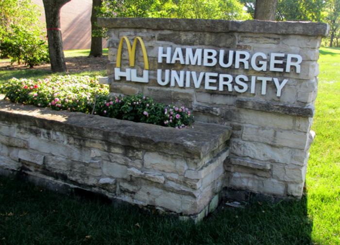 Университет Гамбургера с филиалами по всему миру.