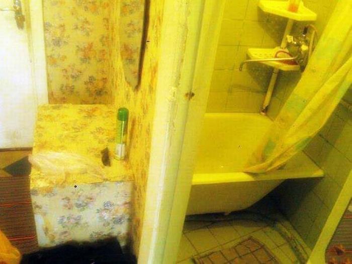 Межкомнатная ванна.
