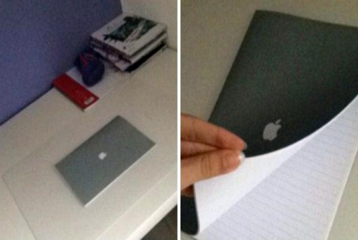 MacBook в линию.