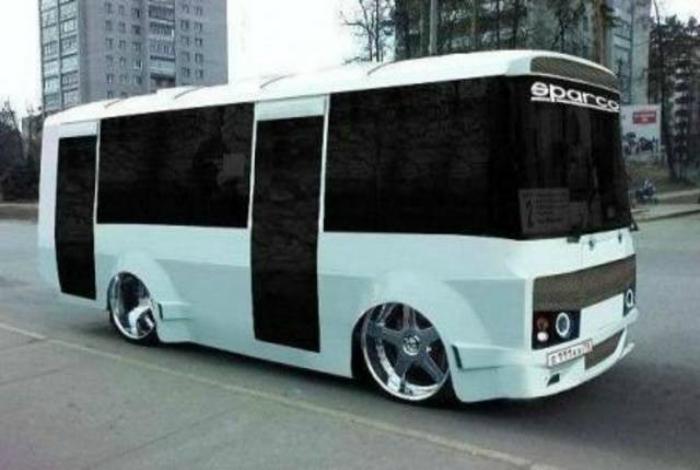 Заниженный автобус.