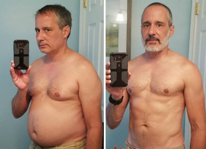 Бросил пить и похудел за один год.