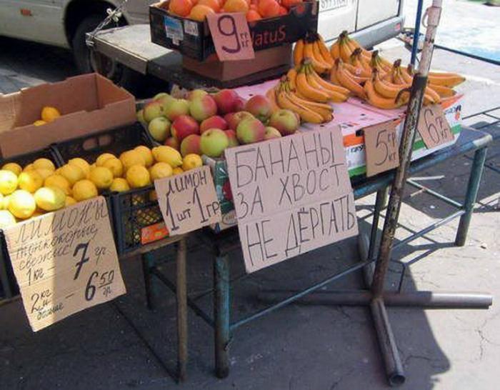 Люди, прекратите издеваться над бананами.