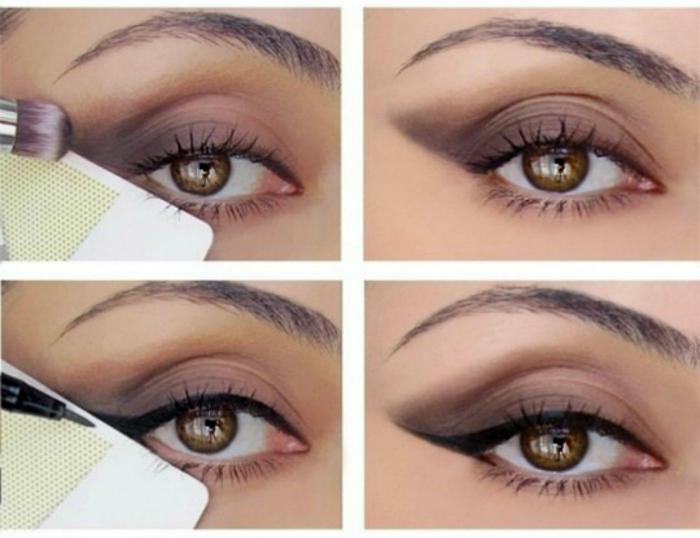 Профессиональный макияж глаз.