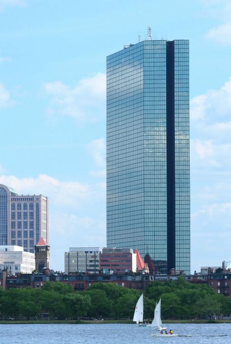 Башня Джона Хэнкока, Бостон, США.