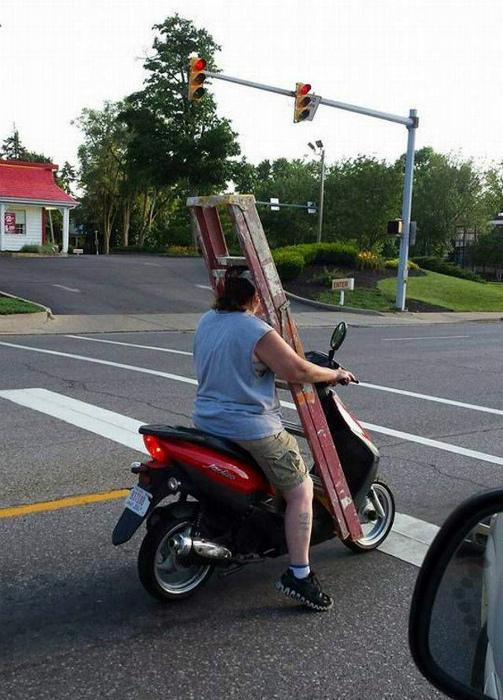 Опасная перевозка.