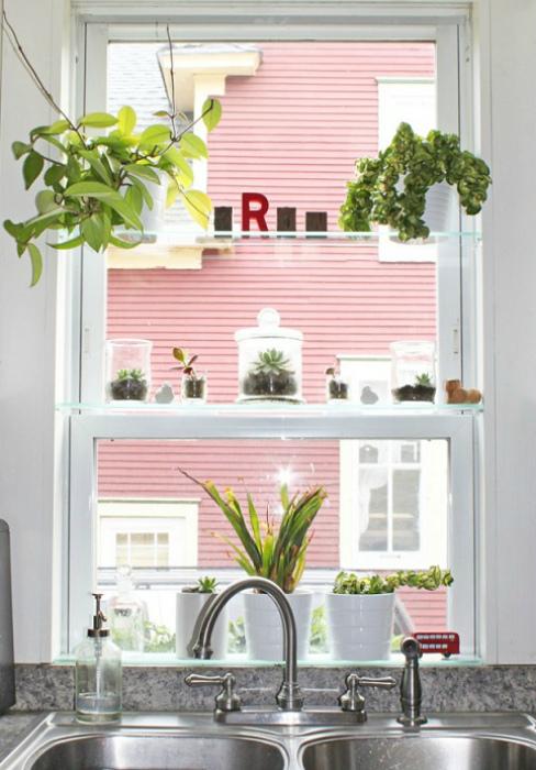 Поиск нестандартных решений для маленькой кухни. | Фото: repair-guides.com.