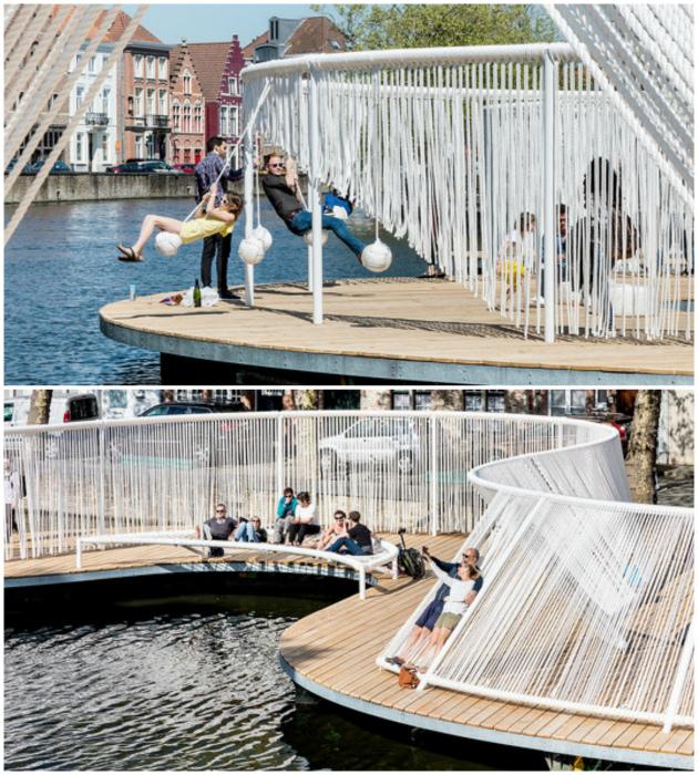 По мнению Novate.ru, этот мост - идеальное место для отдыха. | Фото: Тролльно, Thinga.