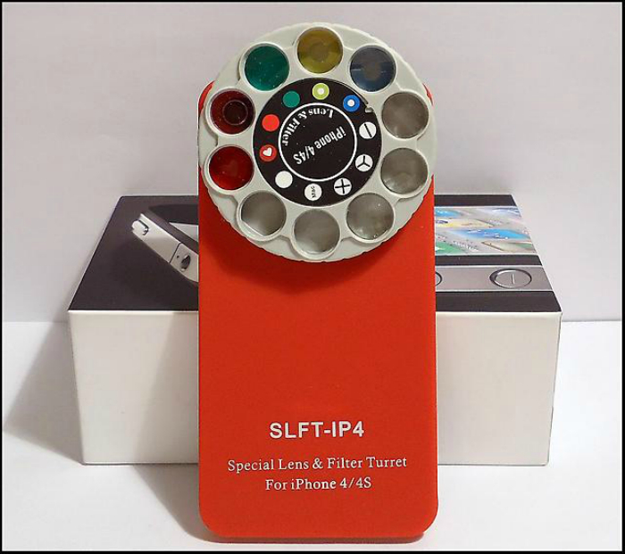 Необычный чехол со светофильтрами для тех, кому надоели фильтры Instagram.