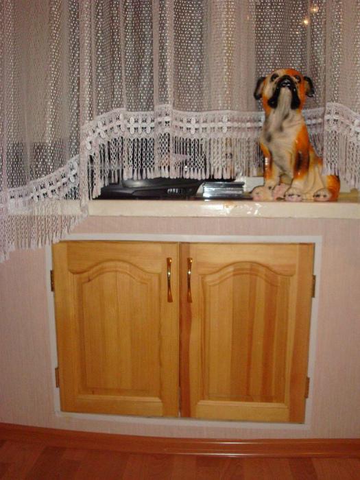 Встроенный холодильный шкаф. | Фото: Domi Good.