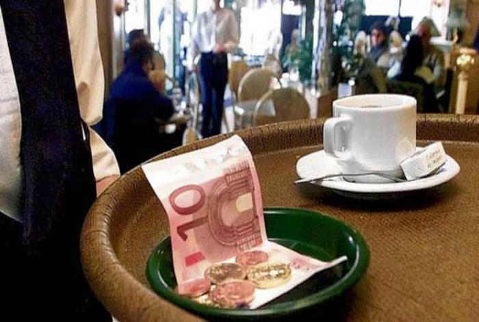Чаевые в заведениях Японии. | Фото: katyaburg.ru.