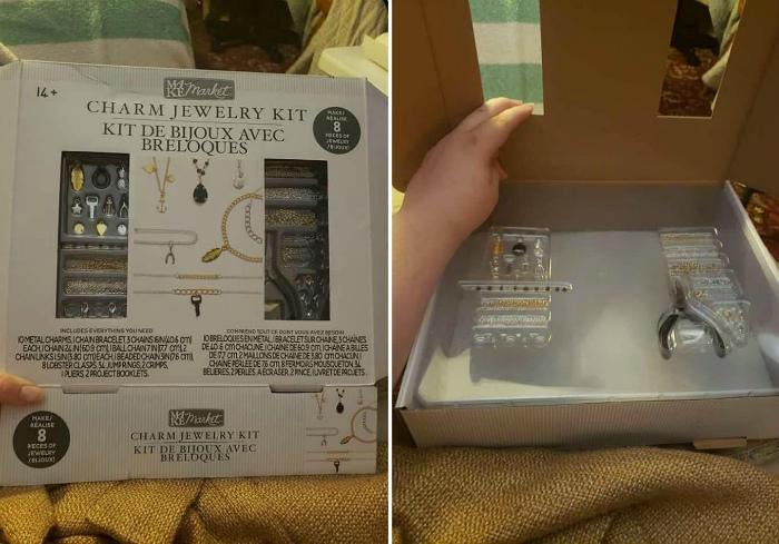 А вы думали, что внутри коробка будет полной? | Фото: Redditlite.