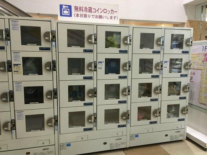 Холодильные камеры в торговом центре.