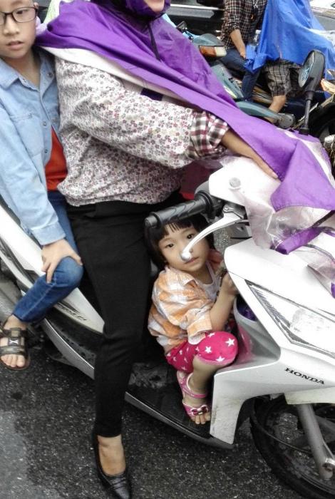 Скутер для многодетной семьи. | Фото: NWCOD.COM.