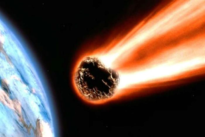 Раскаленные и пылающие метеориты. | Фото: Мир космоса.