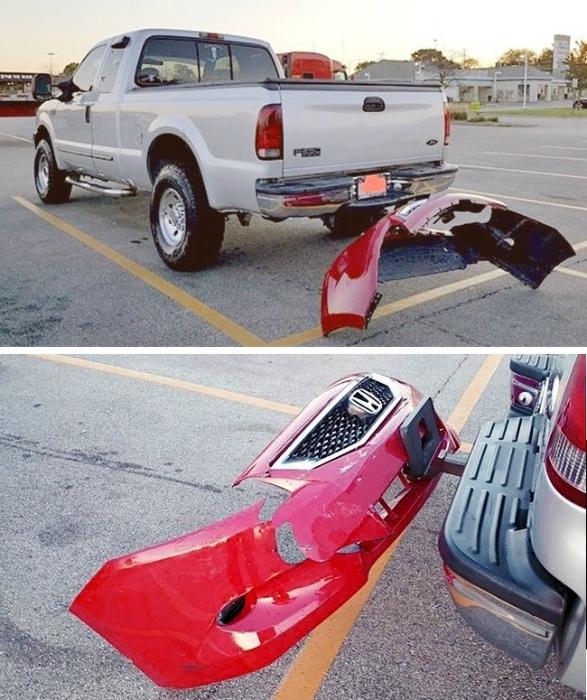Сувенир с парковки.