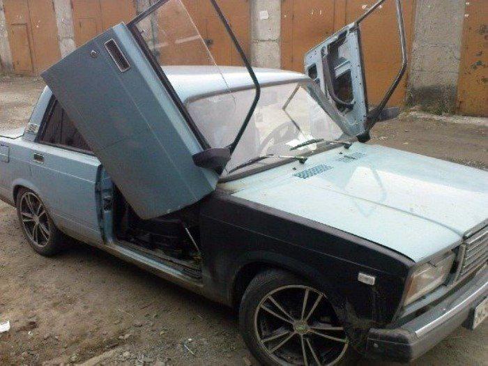 Апгрейд отечественного автомобиля.