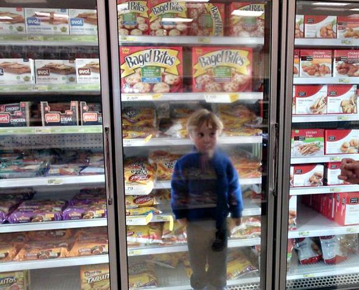 Дети в морозилке лучше сохраняются. | Фото: Best Life.