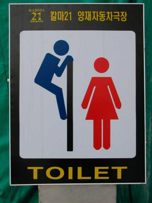 Будьте внимательны в общественном туалете Японии.