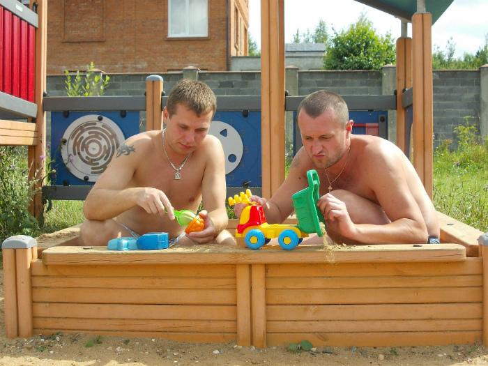 Игры в песочнице.