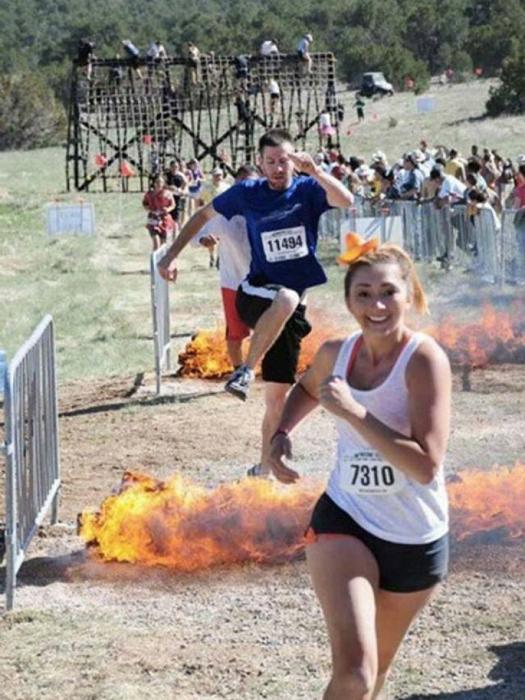 Девушка, прошедшая сквозь огонь.