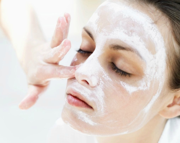 Пилинг лица содой. | Фото: Маски для красоты.