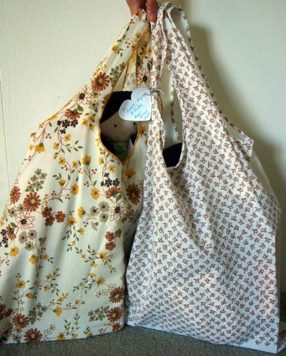 Хозяйственная или пляжная сумка. | Фото: resliced by Jordan.