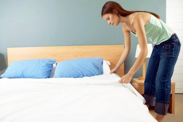 Смена постельного белья. | Фото: Ваш сонник.