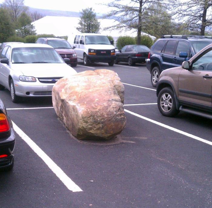 Хитрости парковки.
