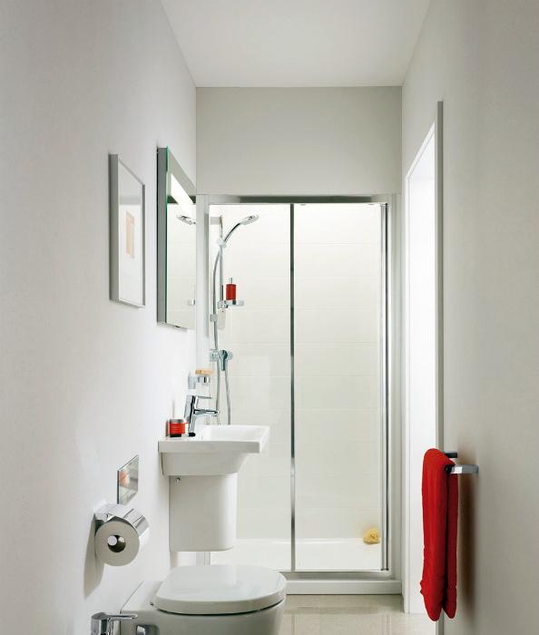 Ванная комната в белом цвете. | Фото: Missionmeltdown.com.