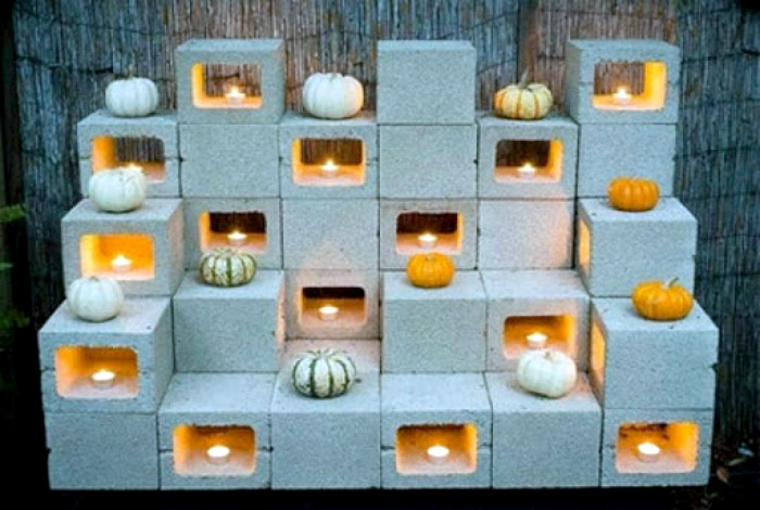 Красивая инсталляция с подсветкой. | Фото: Позитив.