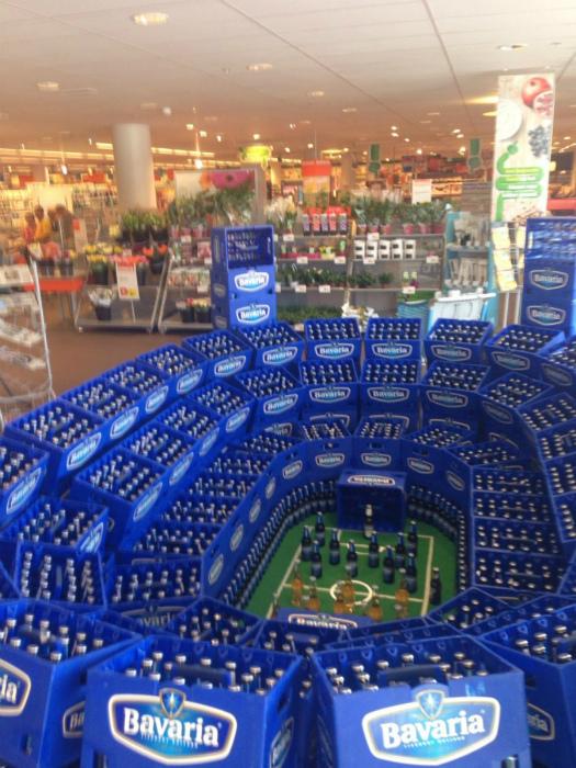 Искусство в супермаркете.