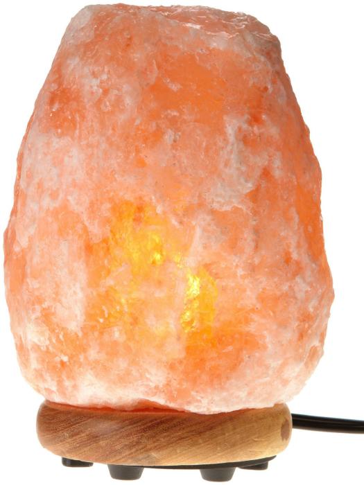Необычный светильник из Гималайской соли, который очищает воздух.