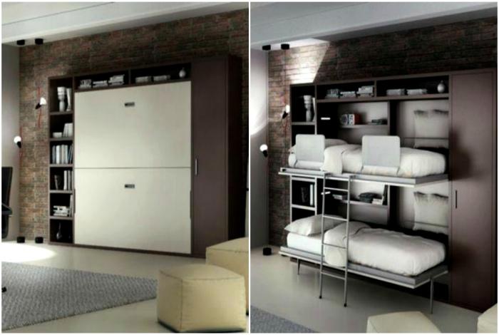 Встроенный стенной шкаф. | Фото: Uniformdirectory.
