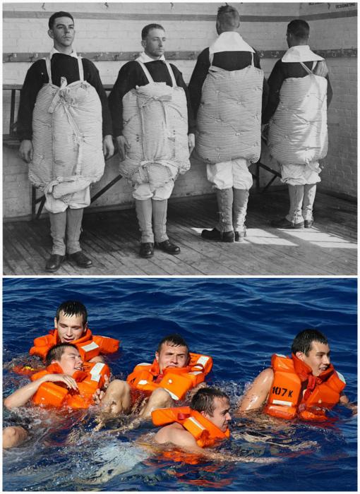 История появления спасательных жилетов.